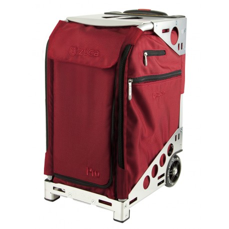 Сумка ZUCA Pro Travel Ruby Red & Silver